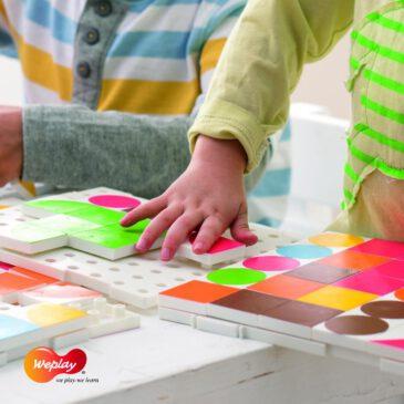 Weplay Puzzle Fun Puzzeln macht Spaß und fördert visuelle Fähigkeiten ... Mit dem farbenfrohen Puzzle Fun von Weplay aus hochwertigem Kunststoff lernen Kinder Farben und Formen kennen.