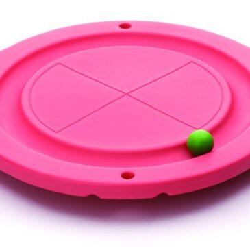 Balancier Brett Für Anfänger ... Den Ball im Kreis laufen lassen, stehend oder in den Händen.